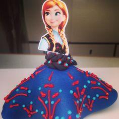 Maça decorada - Ana Frozen