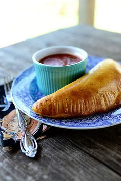 Easy Calzones using frozen bread dough. A cinch!