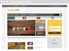 Thesis Magaze Skin