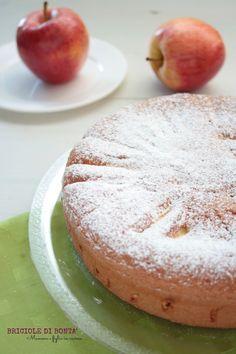 Torta di mele senza olio e burro