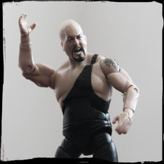"""WELLL it's the Big Show! A 7-foot tall giant trapped in a 3 3/4"""" figure."""