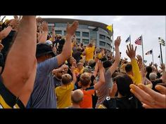 WATCH: Iowa University Starts BEST New Football Tradition EVER
