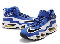 timeless design dc902 db9f6 Nike Air Griffey Max 1 Mens Blue White Black