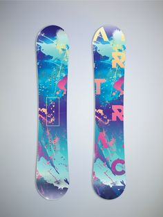 skateboard and snowboard designs