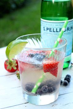 Skinny Summer Cocktail