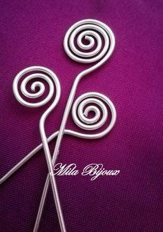 Asticelle a spirale medie, by Mila Bijoux, 0,25 € su misshobby.com