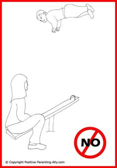 parenting tips | Funny parenting tips. Toddler playground activity. Funny drawing of ...