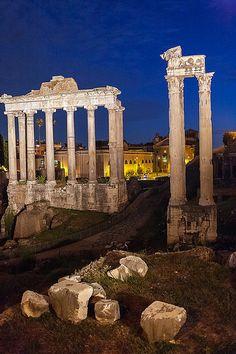 Roma - Il Foro ♠ | da Alessandro Grussu