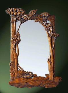 The Jewelry Lady's Store: Art Nouveau Mirror