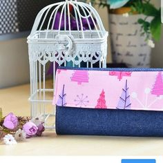 Super Simple Handmade Wallet Tutorial (Free Sewing Pattern+SVG) - Sew Some Stuff Wallet Sewing Pattern, Sewing Patterns Free, Free Sewing, Sewing Tutorials, Dress Patterns, Bag Patterns, Sewing Ideas, Discount Fabric Online, Buy Fabric Online