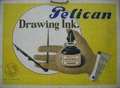 El Lissitzky anuncio para pelican 1925