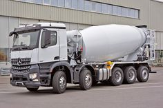 Mercedes Benz Trucks, Concrete Mixers, Road Train, Cab Over, Mining Equipment, Big Trucks, Transportation, Construction, Vehicles