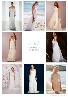 Wedding dresses for #beach #weddings and Wedding dresses for destination weddings