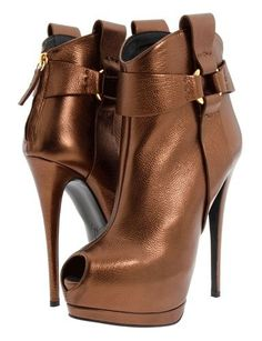 High Heel Strapped Boots