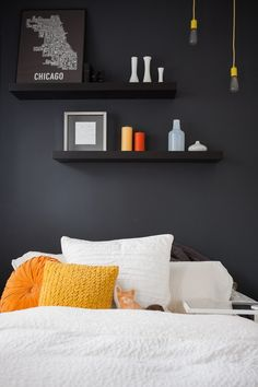 Dressed to Snooze: 20 Ideas for Styling a Bed   Apartment Therapy