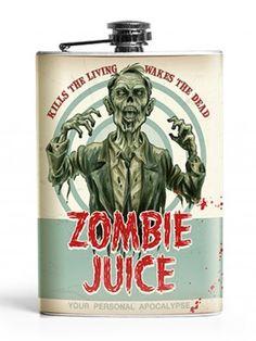 Zombie Juice Flask by Retro-A-Go-Go!