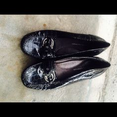 Black flats Buckle on top Andiamo Shoes Flats & Loafers