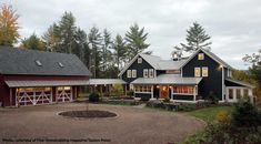 Masses and middle. Exterior Farmhouse Design, Pictures, Remodel, Decor and Ideas - page 2