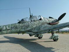 Hasegawa 1/32 scale Junkers Ju 87 D-8 Stuka by Rod Bettencourt