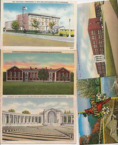 vintage postcards Virginia