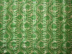 Sew Much Fabric - Island Green/Tan Tropical Print Lawn, $18.00 (http://stores.smfabric.com/island-green-tan-tropical-print-lawn/)