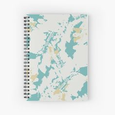 Designs, Bubble, Teal, Notebook, Pastel, Leaves, Abstract, Muted Colors, Serenity