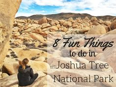 8 Fun Things to do in Joshua Tree National Park in California via The Traveling Spud