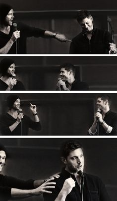 Jensen & Jared convention panel #VanCon2013