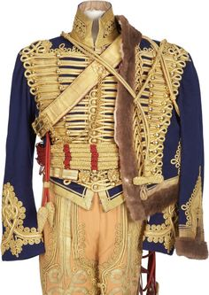 British Hussar uniform
