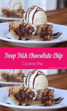 Deep Dish Chocolate Chip Cookie Pie Recipe| Hot, Gooey Chocolate Chip Cookie Pie For The Win! 😋 😋 😋 😋 😋 🍪 🍪 🍪 🍪 🍪 🍪 🍪 🍪 🍪 🍪 🍪 🍪 🍪 🍪 🍪 🍪 🍪 🍪 🍪 🍪 🍪 🍪 🍪 🍪 🍪 🍪 🍪 🍪 🍪 🍪 🍪 🍪 🍪 🍪 🍪 🍪 🍪 🍪 🍪 🍪 🍪 🍪 🍪 🍪 🍪 🍪 🍪 #chocolatechips #cookiepie #dessert #warm #cookiepie #hotfudge #vanillaicecream #chocolatesyrup
