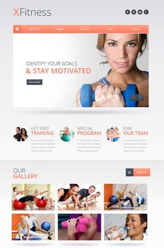 Fitness-Club-Website-Template