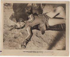 "Gloria Grahame. ""The Greatest Show on Earth"". 1951."