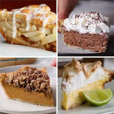 5 Pies For Your Holiday Season #baking #dessert #holiday #pie