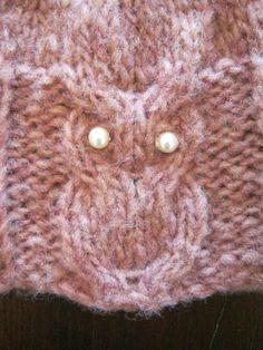 PATRON HIBOU/CHOUETTE AU TRICOT (Owl knitting pattern)