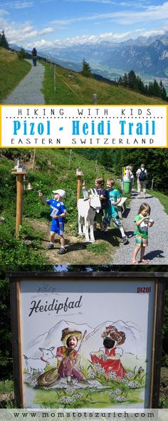 Heidi Theme Trail at Pizol Backpacking, Camping, Car Station, Alpine Meadow, Hiking With Kids, Outdoor Cafe, Train Tickets, Picnic Area, Hiking Backpack
