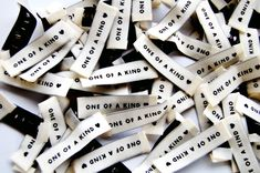 Clothing Labels! -