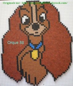 Lady Disney hama beads by marmotte88130