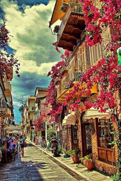Greece Travel Inspiration - Town of Nafplio (Peloponnese) Greece.I MUST visit this place! Places Around The World, Oh The Places You'll Go, Places To Travel, Places To Visit, Around The Worlds, Santorini, Wonderful Places, Beautiful Places, Greece Travel