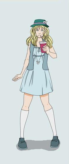 Hipster Disney Princess: Alice by mayanna