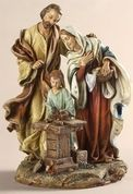 Holy Family in Carpenter Shop Statue