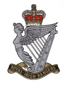 The Royal Irish Rangers. Military Cap, Military Insignia, Canadian Army, British Army, Military Stickers, Army Dogs, Battle Of The Somme, Royal Engineers, British Armed Forces