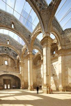 huge-skylight-church #church #architecture #renovation