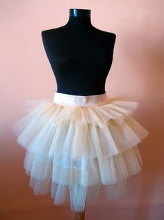 abe52abff8 Tutu skirt-is worn as a costume in a ballet performance and it has single  layer, hanging down, or multiple layers starched and jutting out.