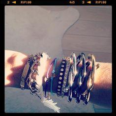 DIY Jewelry DIY Bracelet DIY rhinestone wrap bracelet