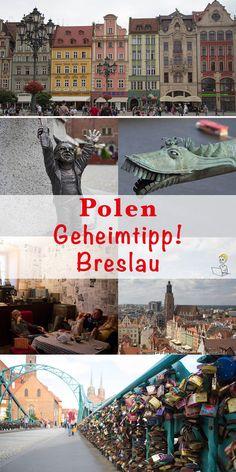 Ja, ich gestehe. Vor meiner Reise nach Polen war mir die Stadt Breslau völlig unbekannt. Klar verbindet man mit Polen in erster Linie Warschau, Krakau oder Danzig. Aber Breslau? Zum Glück hat mich eine polnische Freundin auf diese aufstrebende in Südpolen gebracht, die zur Kulturhauptstadt 2016 ernannt wurde. Denn Breslau hat viele Sehenswürdigkeiten, ein tolles Flair und zahlreiche Highlights zu bieten. Hier meine 16 Tipps für Breslau, die du nicht verpassen solltest! #reisenmitkind…