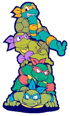 Turtle pole by FREAKfreak.deviantart.com on @DeviantArt