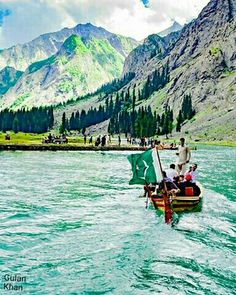 Fantastic beauty of Mahodand lake Kalam Swat valley Azad Kashmir Pakistan