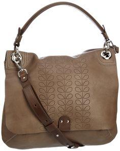 Orla Kiely leather bag