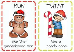 Christmas Action Cards. This is the actual link to the page for downloading.