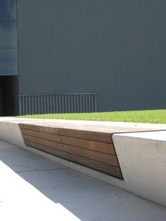 25 Ideas Public Seating Concrete Landscape Architecture For 2019 Landscape Elements, Contemporary Landscape, Urban Landscape, Landscape Architecture, Landscape Design, Architecture Design, Urban Furniture, Street Furniture, Furniture Nyc